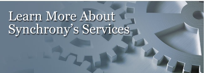 learn more about Synchrony's Services